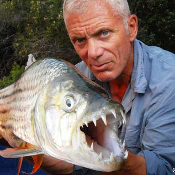 Animal Planet's River Monster star Jeremy Wade