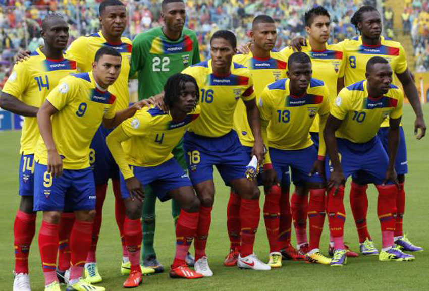 FIFA World Cup 2014 Ecuador Team