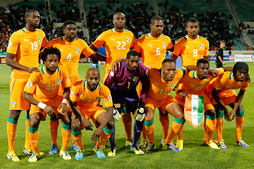 Ivory Coast FIFA World Cup 2014