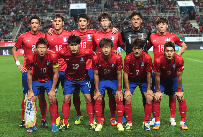 South Korea FIFA World Cup 2014