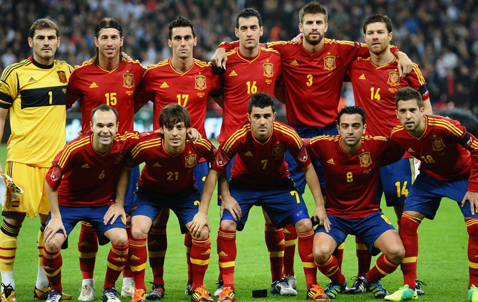 Spain FIFA World Cup 2014