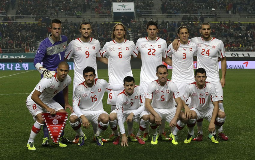 Switzerland FIFA World Cup 2014