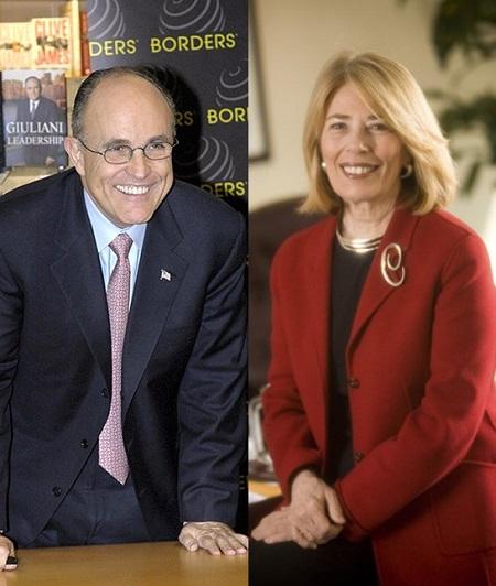 Rudy Giuliani And Wife Of 15 Years Judith Giuliani Are