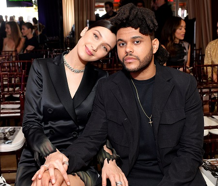 Bella Hadid and The Weeknd put on loved up displays while