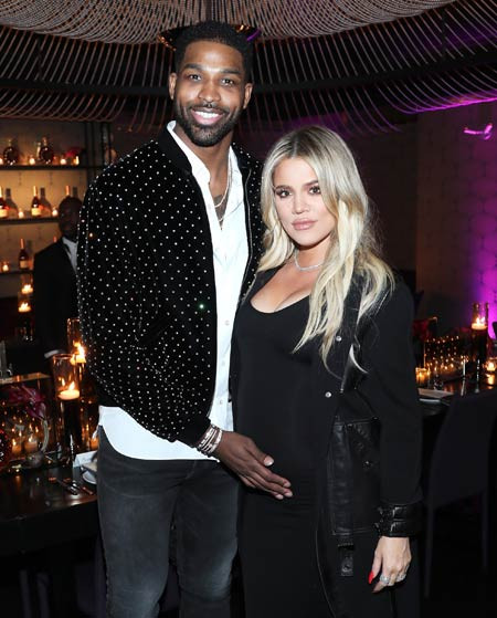 khloe kardashian and tristan thompson are not living