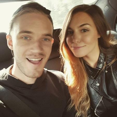YouTuber PewDiePie Is Dating Girlfriend Marzia Bisognin ...