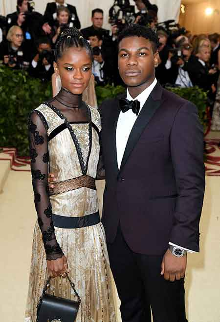 Star Wars Star John Boyega And Letitia Wright Are They