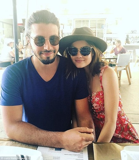 Alex marshall and lucy hale dating co-star