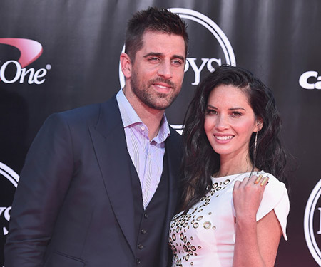Who is aaron rodgers dating in Brisbane