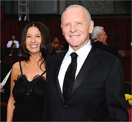 Anthony Hopkins' wife instilled a healthy diet to help him lose weight.
