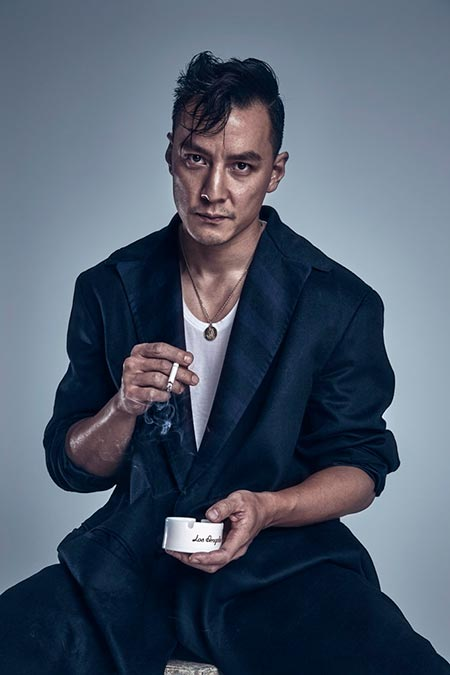 Daniel Wu at an event for Into the Badlands (2015) | Into