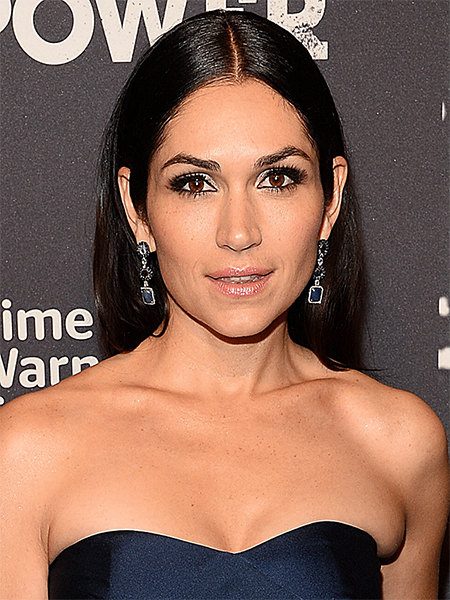 LELA LOREN at Thewraps 2015 Emmy Party in West Hollywood