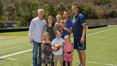 american football quarterback philip rivers longtime