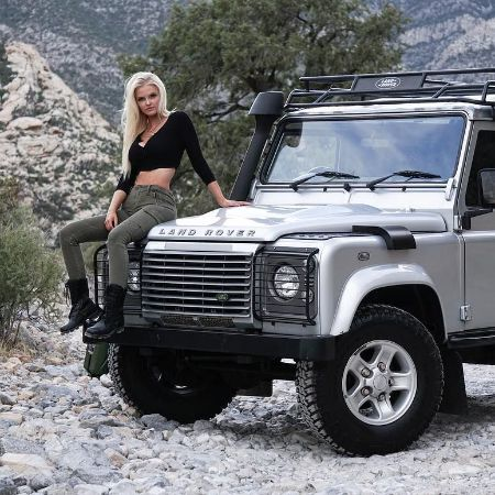 Who Owns Land Rover >> Zienna Eve Sonne Williams-Bio, Career, Net Worth, Model ...
