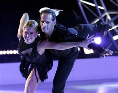 lloyd eisler and kristy swanson on skating with celebrities