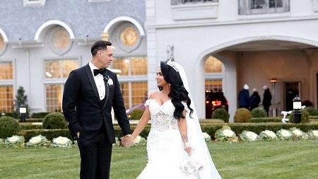 Angelina Pivarnick And Chris Larangeira Married In East