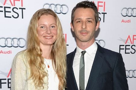 Emma Wall and her husband Jeremy Strong