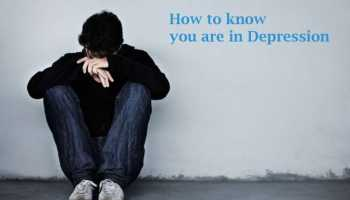 How to know you are in Depression