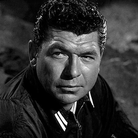 Claude Akins chest