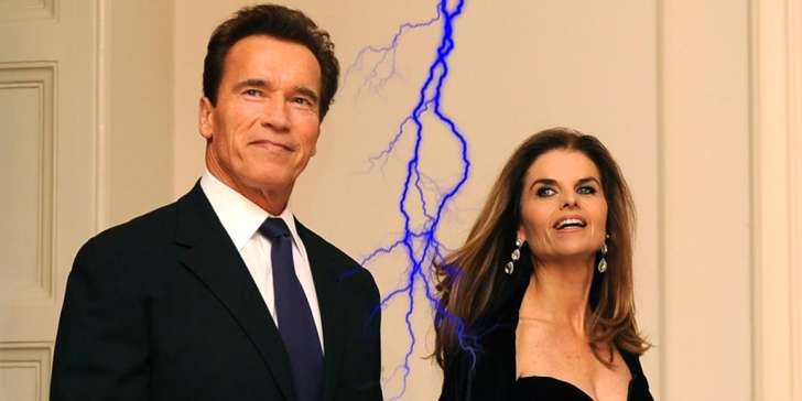 Maria Shriver and Arnold Schwarzenegger separated