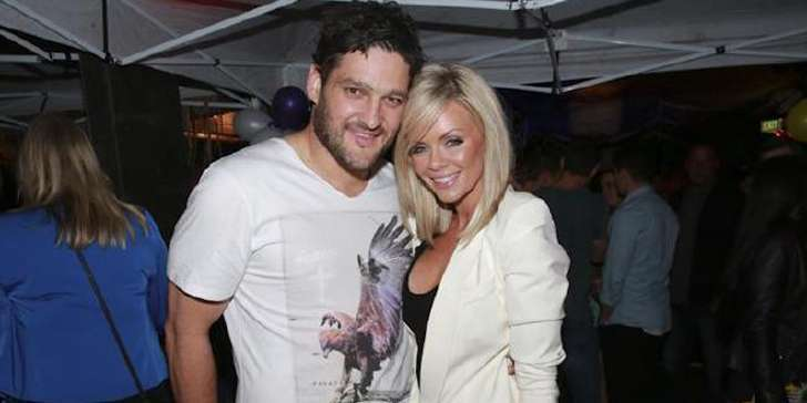How well is the current relation of footballer Brendan Fevola and his ex-wife Alex Fevola running?