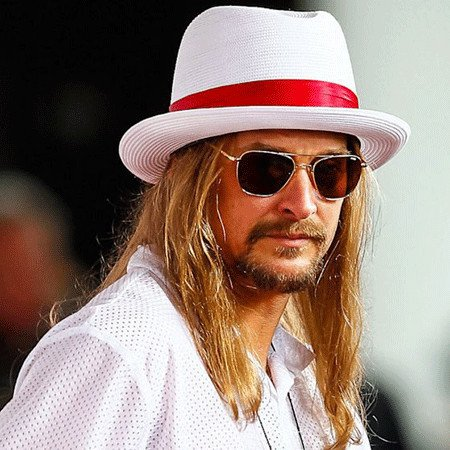 Kid Rock Hair Color