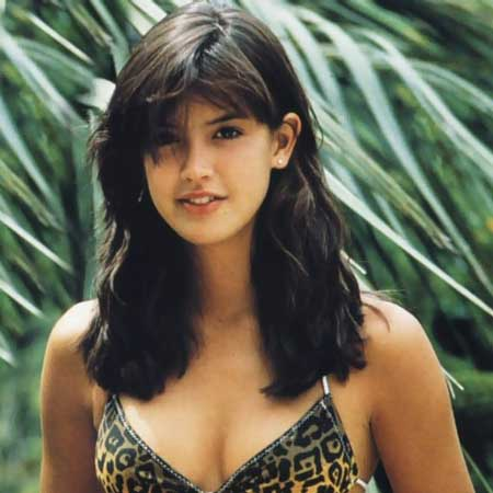 image Phoebe cates in paradise with fixed reflection pool scene
