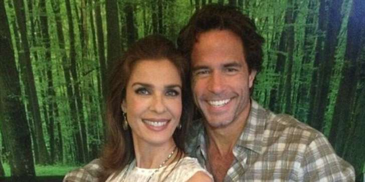 Simon Macauley a Kristian Alfonso's ex-husband what he is doing with their children