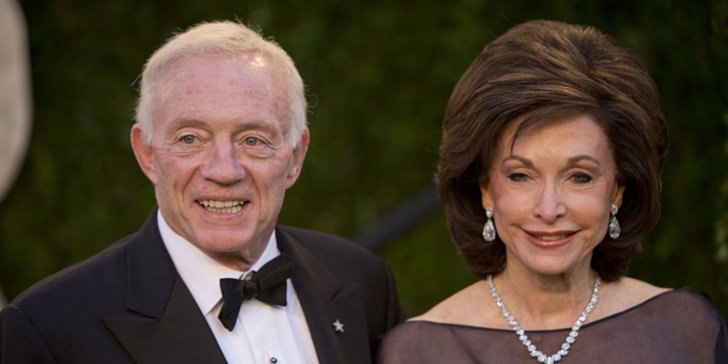 Eugenia Jones a Jerry Jones' wife wiki and married life