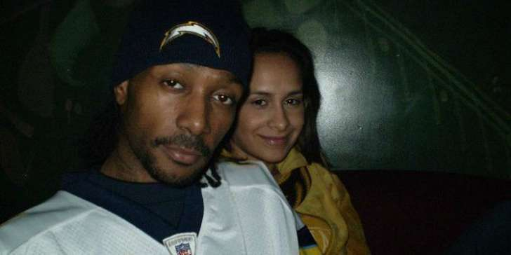 Krayzie Bone with his wife in the tour