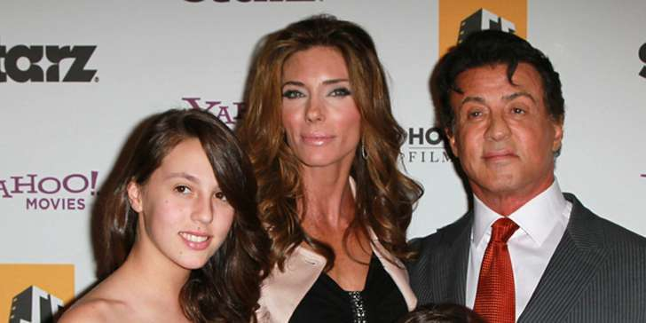 Sophia Rose Stallone less known personal life