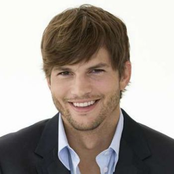 Ashton Kutcher loves being a father