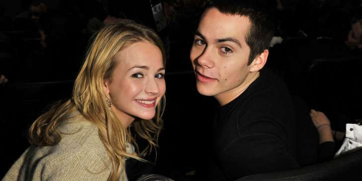 Britt Robertson and Dylan O'Brein - 4 years of togetherness