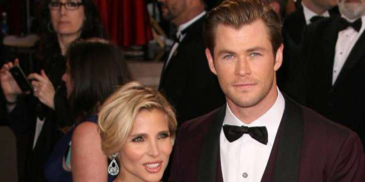 Elsa Pataky, Chris Hemsworth, and their  happy family