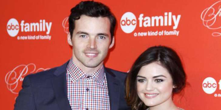 Ian Harding and Lucy Hale relationship besides