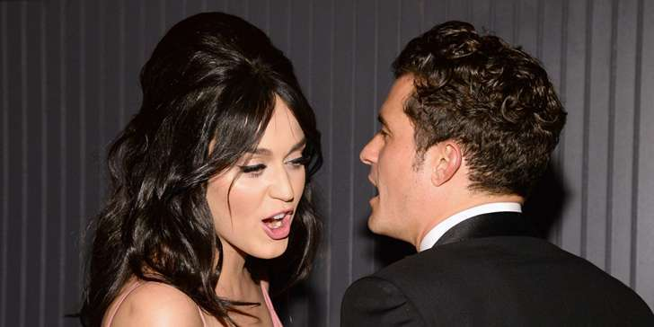 Katy Perry and Orlando Bloom seen together at Coachella Music