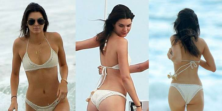Kendall Jenner shows her Bikini Body on Instagram