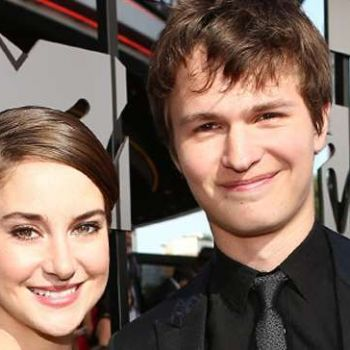 How are Shailene Woodley and Ansel Elgort related?