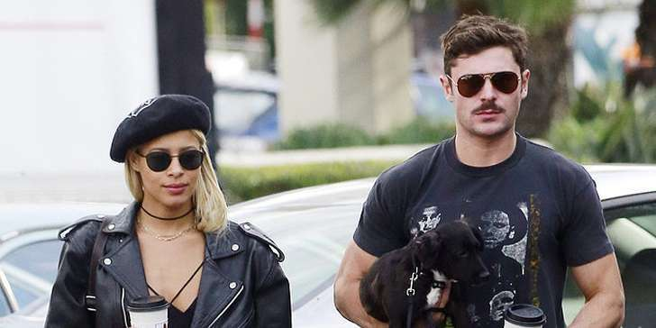 Zac Efron and Sami Miro - Adorable Together