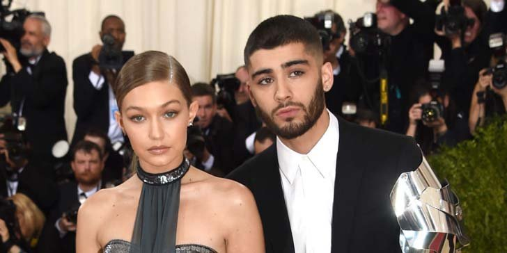 Zayn Malik dressed as a robot for his Met Gala Debut with his girlfriend Gigi Hadid