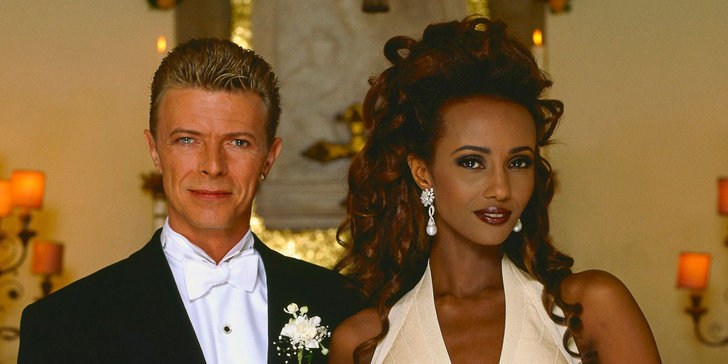 Iman shares sweet pictures to mark the anniversary with David Bowie