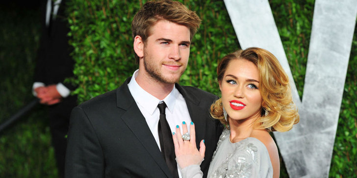 Miley Cyrus wears a tee with Liam Hemsworth's name in it; is she getting married soon?