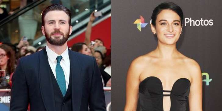 Chris Evans romance with Jenny Slate