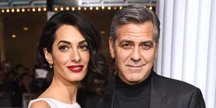 George Clooney, so in love with his wife Amal Clooney