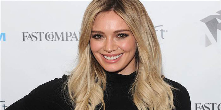 Hilary Duff, the ex-wife of Mike Comrie, isn't worried about looking perfect in swimsuits