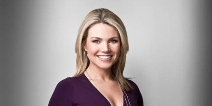 The banker with his wife heather nauert the news anchor of fox news