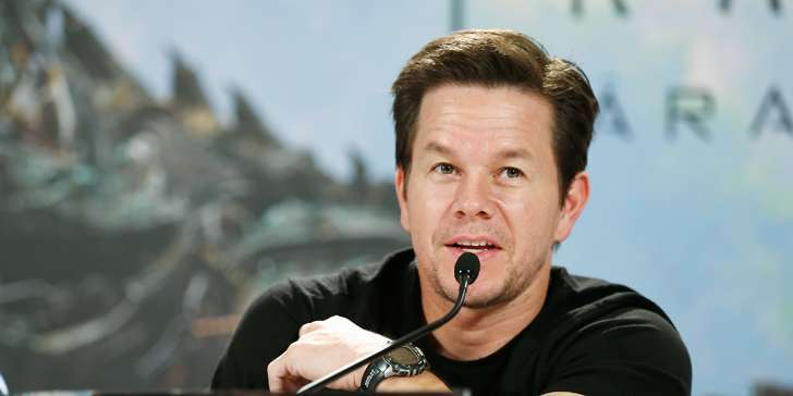 Which upcoming movies and TV Shows have actor Mark Wahlberg signed and featured in?