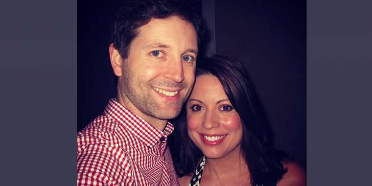 Is Actor Jason Sudeikis' ex-wife  Kay Cannon happy with screenwriter Eben Russell, her new partner?