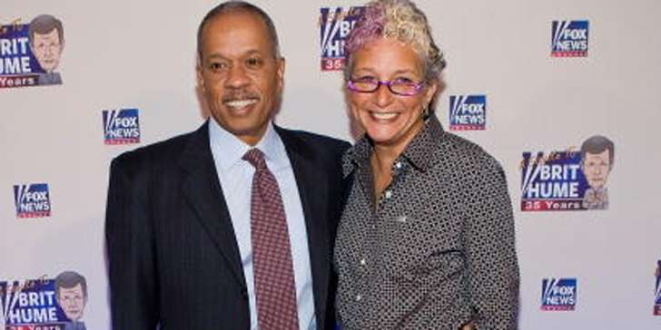 FOX News' Journalist Juan Williams is happy with his wife Susan Delise and his children!