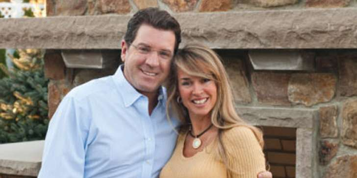 How is the married life of Adrienne Bolling with her husband Eric Bolling, a TV Personality?